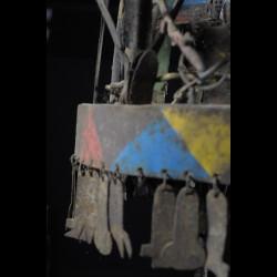 Autel portatif Asen en fer noir - Fon - Benin