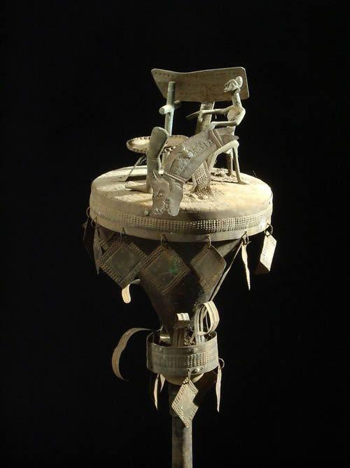 Asen / autel portatif - Ethnie Fon - Benin - Rites funeraires