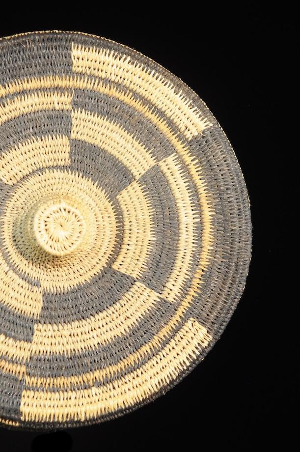 Panier boite - Kuba - Shoowa - Zaire - Textiles africains