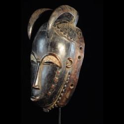 Masque Facial MBlo a cornes - Baoule - Côte d'Ivoire