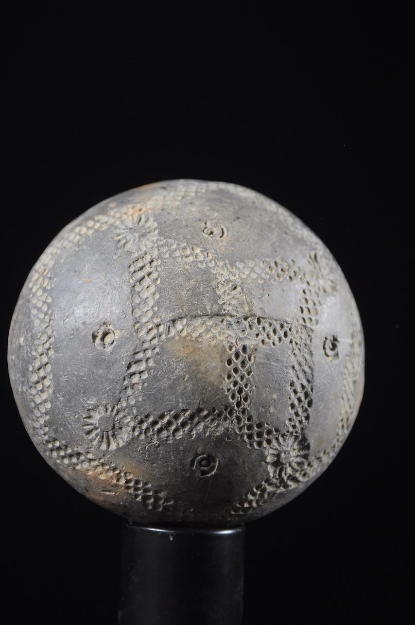 Grelot en terre cuite - Dogon - Mali