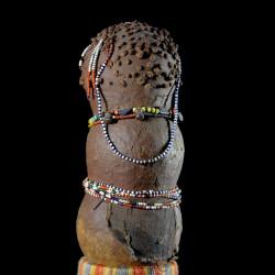 Poupée calebasse et argile - Toga / Yao - Mozambique