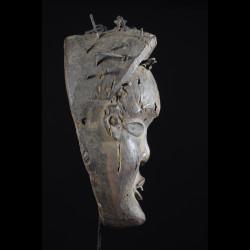 Masque rituel - Kongo Yombe - Rdc Zaire