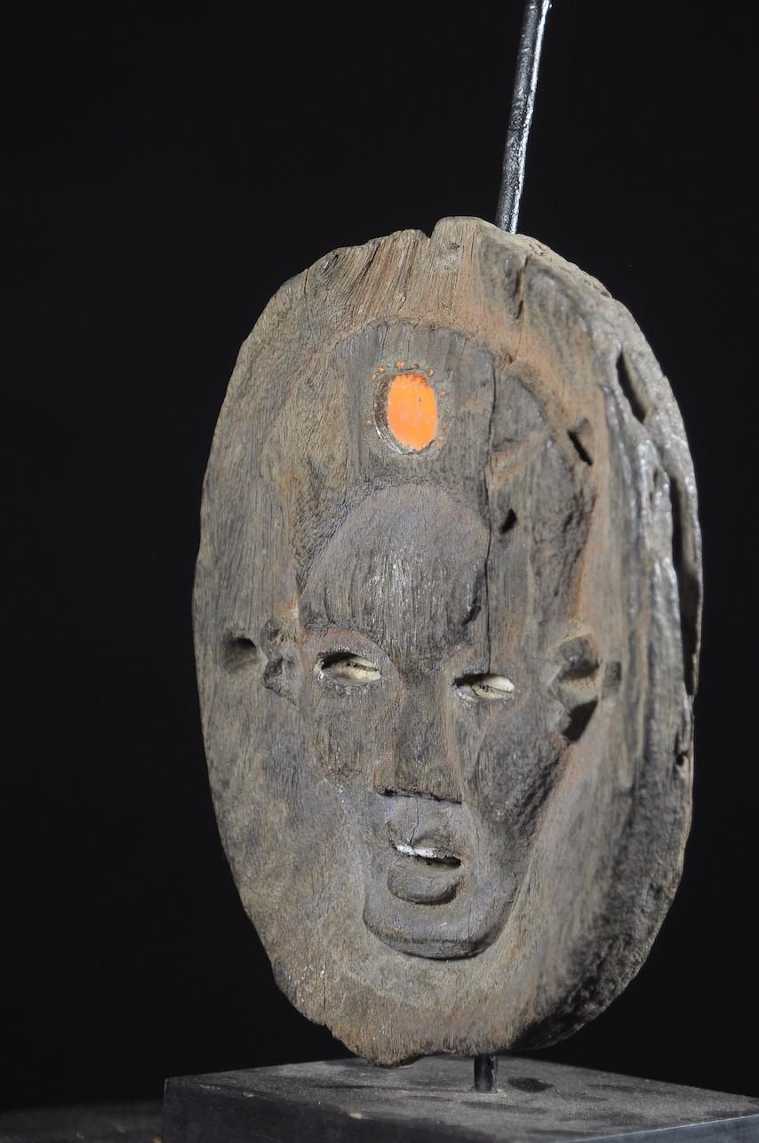 Masque fétiché de Nganga Diphomba - Kongo Yombe - RDC Zaire