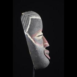 Masque Polychrome de Mendiant - We / Guere - Côte d'Ivoire