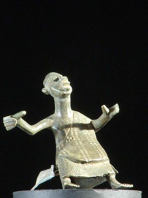 Fragment Asen / autel portatif - Ethnie Fon - Benin - Rites