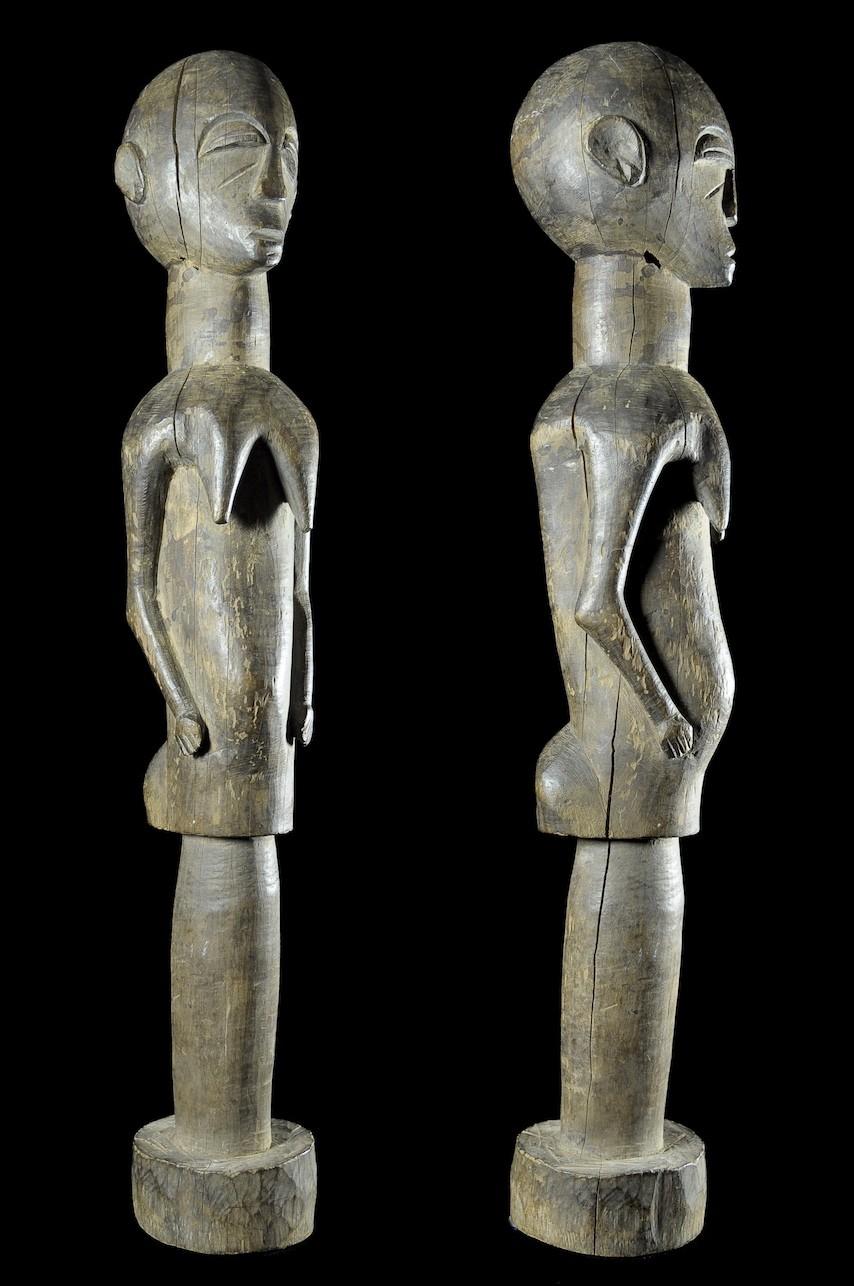 Fetiche Bateba Bâton de danse massue - Ethnie Lobi - Burkina