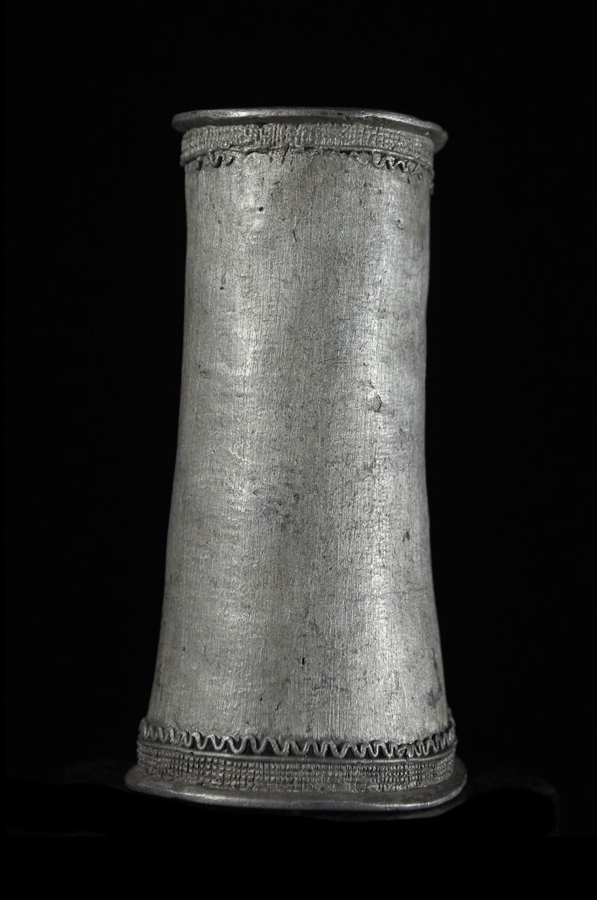 Manchette en aluminium - Kapsiki / Kirdi - Cameroun
