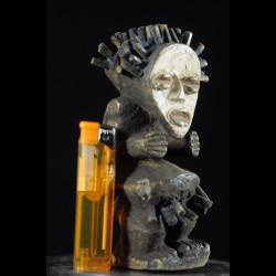 Statue Tadep / Kike en moelle de raphia - Mambila - Nigeria