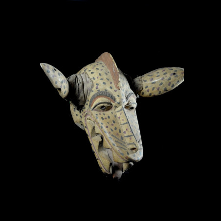 Masque Gelede Hyenne - Yoruba - Nigeria - Culte Gelede
