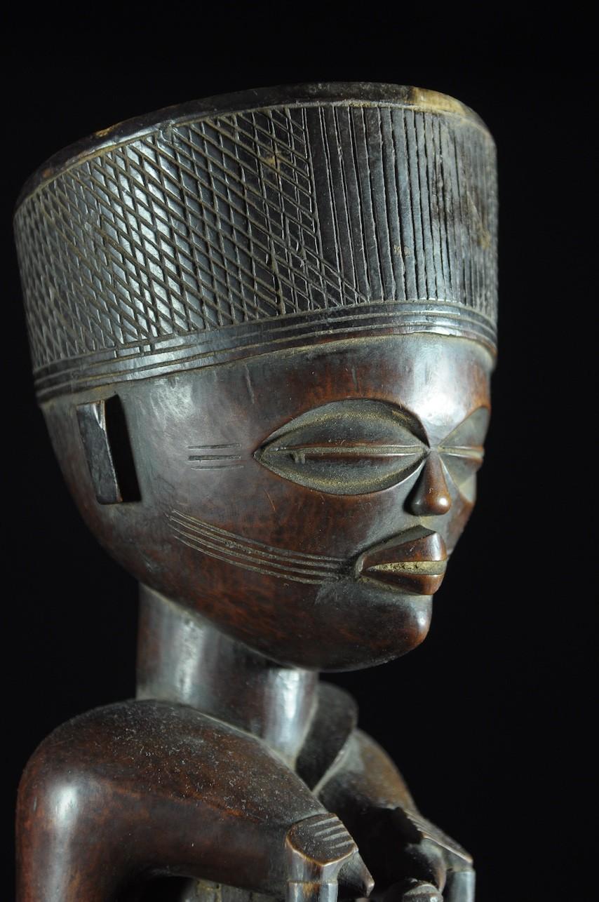Statue cultuelle maternité - Chokwe - Angola