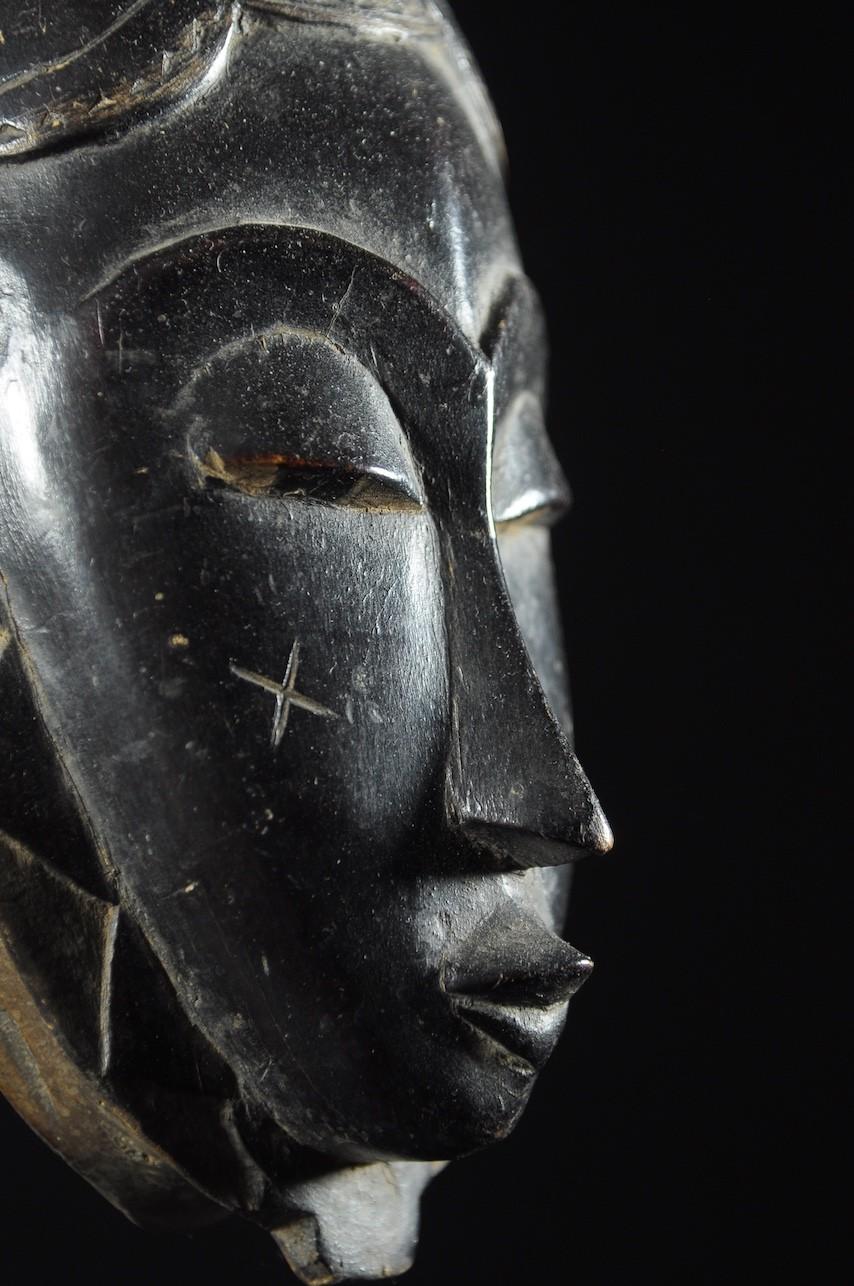 Masque ancien du Gyè - Yaouré / Yohoure - Côte d'Ivoire