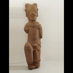Personnage masculin en terre cuite - Civilisation Nok - Nigeria