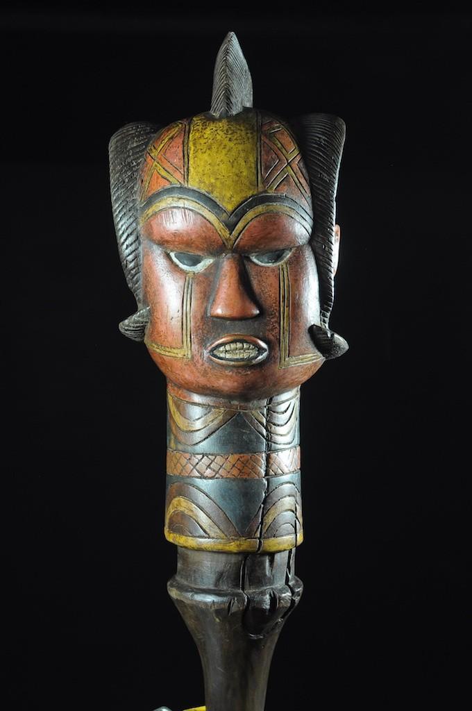 Tete Kebe Kebe Marionette Homme Chauve - Kuyu - Kuyu - Congo Brazzaville