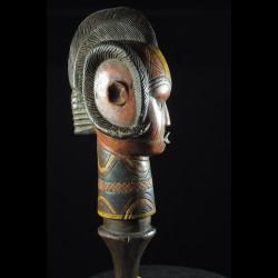 Tete Kebe Kebe Marionette Homme Chauve - Kuyu - RDC Zaire