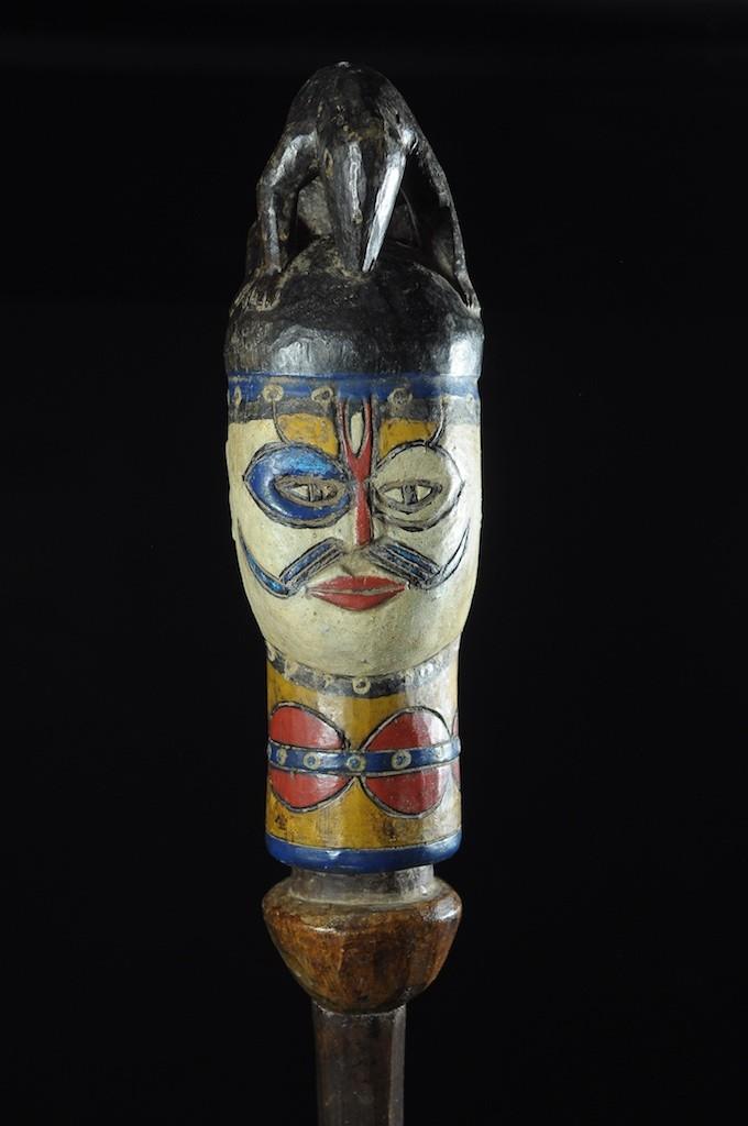 Tete Kebe Kebe Marionette Initiatique Ecureuil - Kuyu - Kuyu - Congo Brazzaville