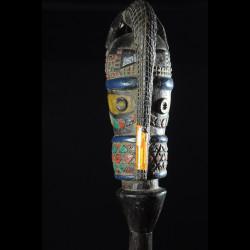 Tete Kebe Kebe Marionette Initiatique Crocodile - Kuyu - RDC Zaire