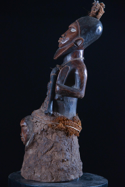 Statue cultuelle banganga - Bembe - RDC Zaire