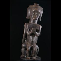 Gardien triple de reliquaire Biery - Fang / Ntumu - Gabon