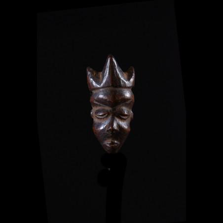 Amulette Ikhoko en bois - Pende - RDC Zaire