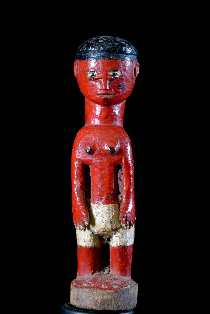 Statue autel ou colon - Akan / Abron - Côte d'Ivoire