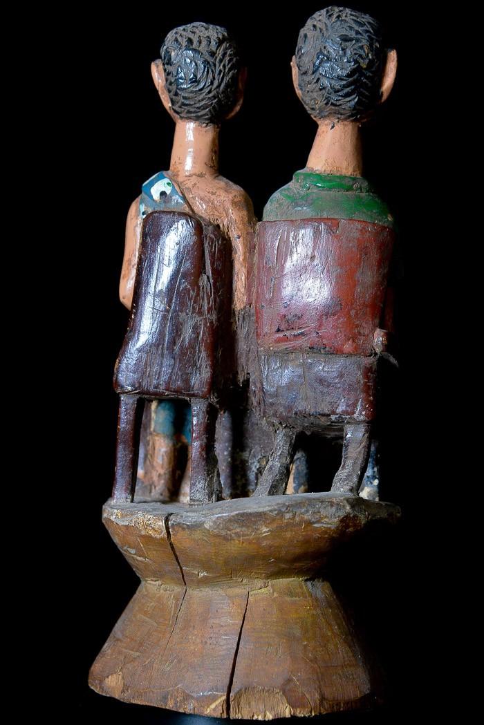 Statue Colon - Photo Africaine - Ashanti - Côte d'Ivoire