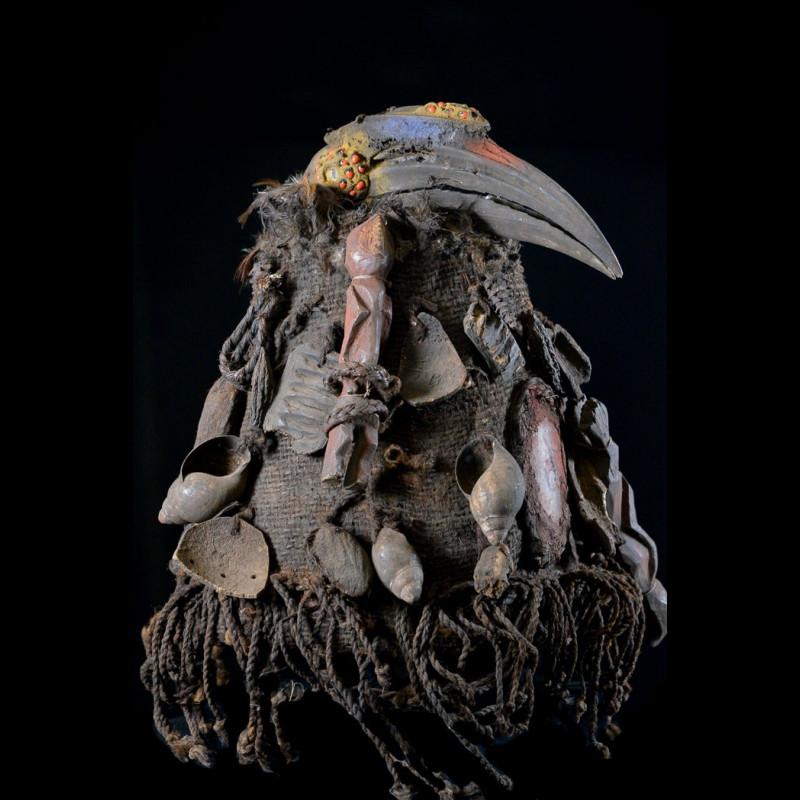 Coiffe de cérémonie de chasse - Mambila - Nigeria