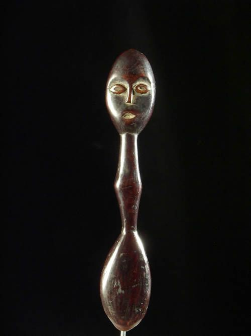Cuillere en corne - Lega - Ivoires et corne africaines