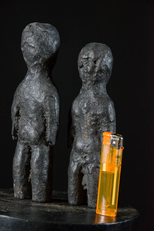 Couple Fetiche Botchio, Boccio, Bocio - Ewé - Togo