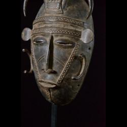Masque en alliage de metal - Dioula - Côte d'Ivoire