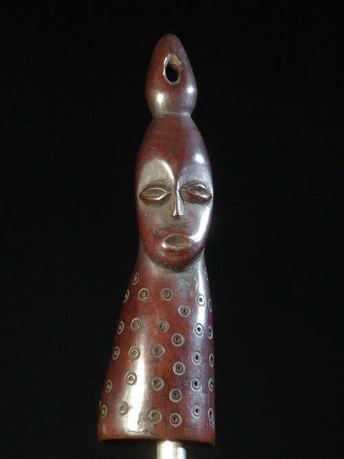 Pendentif en corne - Ethnie Lega - Ivoires et corne africaines