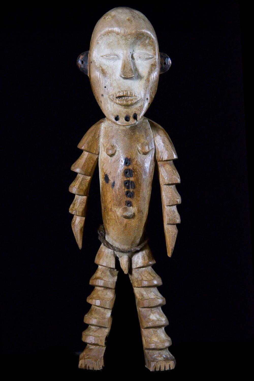 Statuette anthropomorphe Iginga - Lega - RDC Zaire
