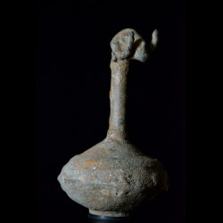 Vase d'autel zoomorphe en bronze - Dogon - Mali