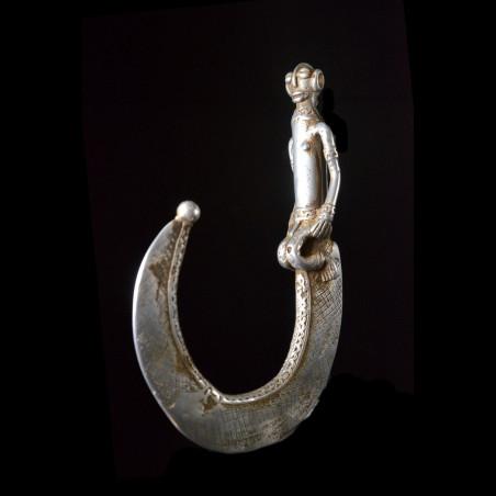 Crochet de danse en aluminium - Bwa - Burkina Faso