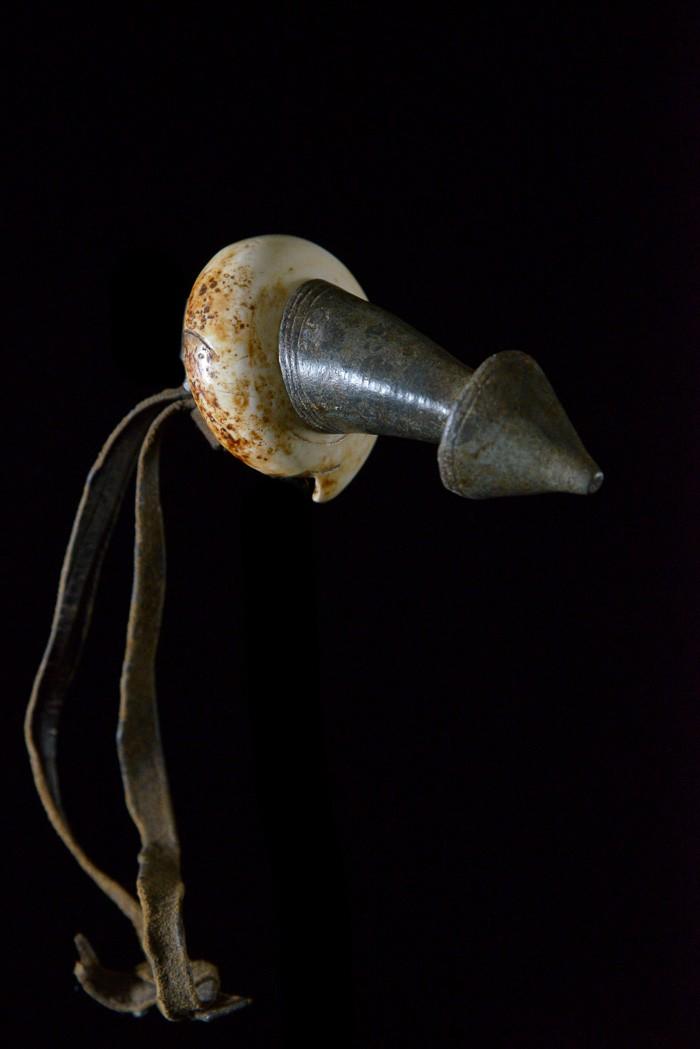 Ornement de coiffe Kalacha - Ethnie Konso - Soudan
