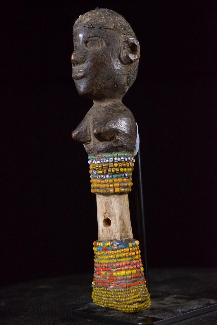 Flute Chouette Imborivungu en os - Tiv - Nigeria
