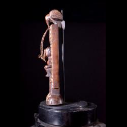 Panneau protecteur Nzambi - Holo - RDC Zaire / Angola - Statue a