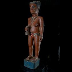 Statue Colon - Photo Africaine - Baoule - Côte d'Ivoire