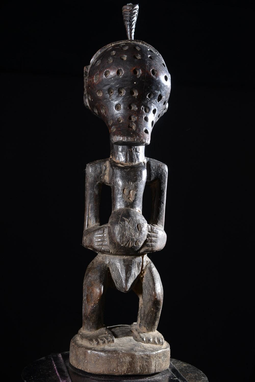 Fetiche Nkishi aveugle - Songye - RDC Zaire
