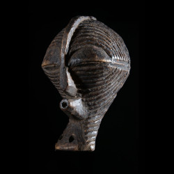 Masque Insigne ou de grade Kifwebe - Songye - RDC Zaire