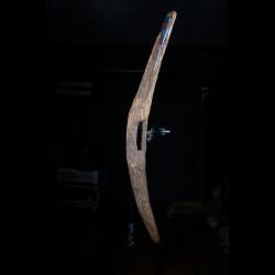 Bouclier en bois - Mumuye - Nigéria