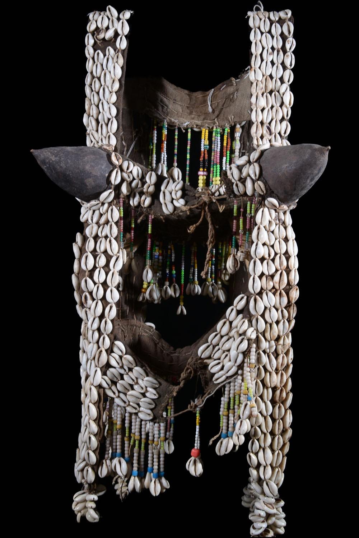 Masque Cagoule et bustier de Jeune Fille 2/2 - Dogon - Mali
