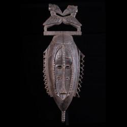 Masque de danses Beduo / Bedwo - Gouro / Baoulé - Côte d'Ivoire
