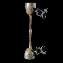 Gong en alliage de bronze - Fon - Benin - Idiophones