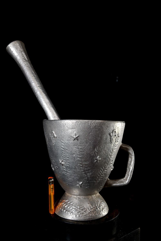 Mortier a grains ou herbes - Bwa - Burkina faso