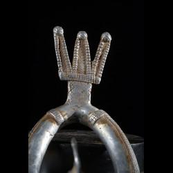 Chevillere homme ou femme en aluminium - Bwa - Burkina Faso