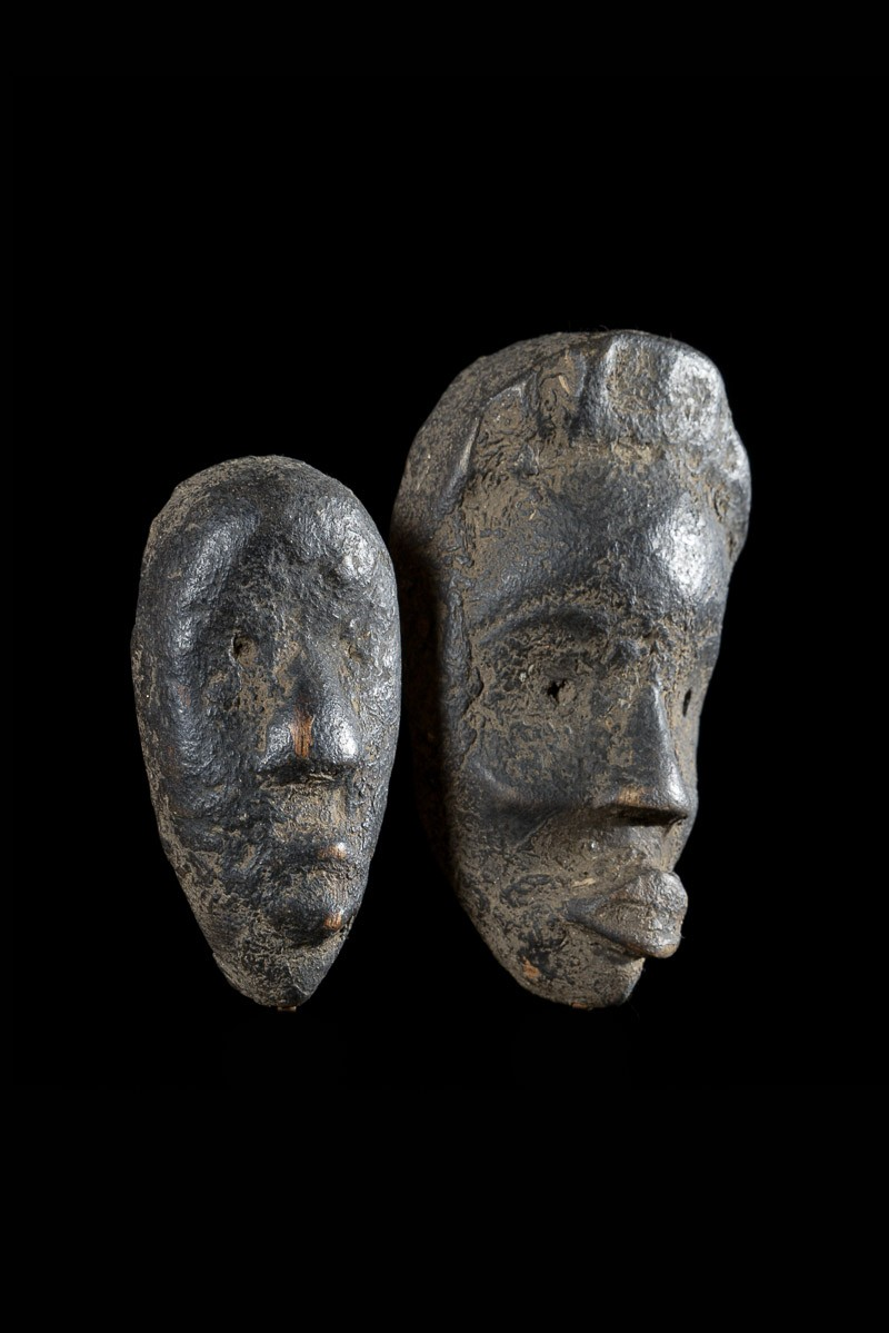 Masque passeport  couple - Dan / Yacouba - Côte d'Ivoire