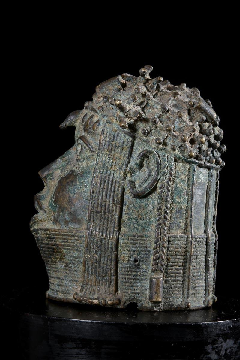 Tete Oba Bronze Ife - Bini Edo - Benin