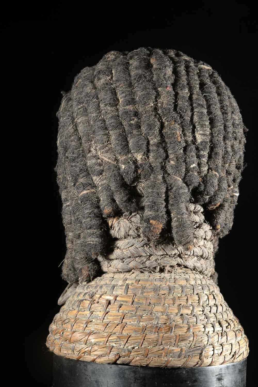 Cimier Crâne Singe Ngil - Bulu / Boulou - Cameroun