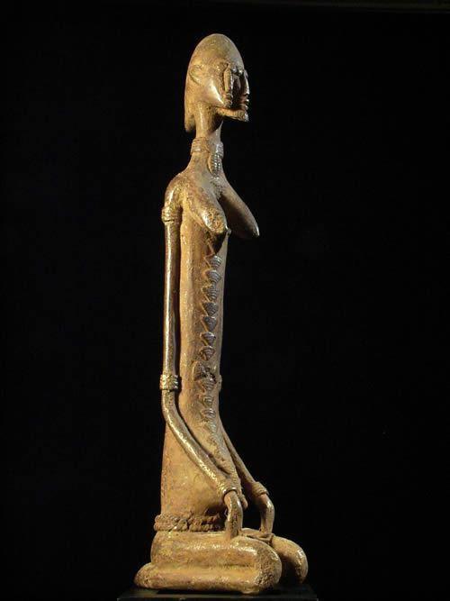 Nommo Janiforme Bronze - Dogon - Mali - Bronzes anciens du Mali